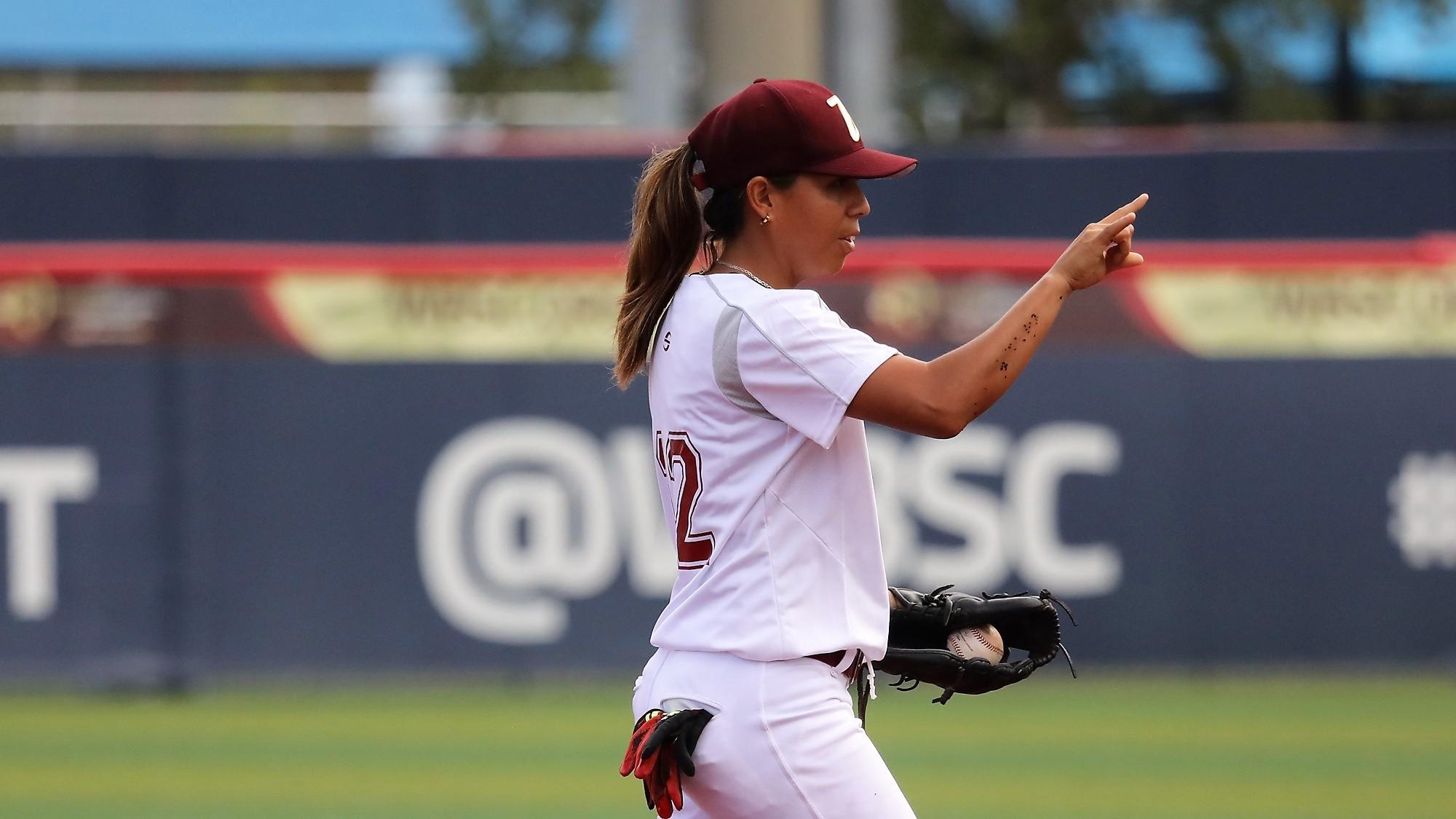 Sor Brito fielding the shortstop position