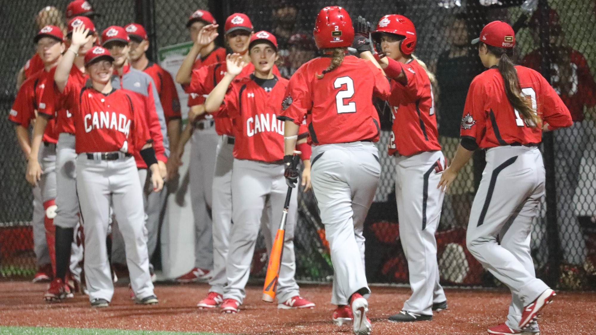 Canada beat Australia after a hard fought battle and is in sole possession of second place in group B