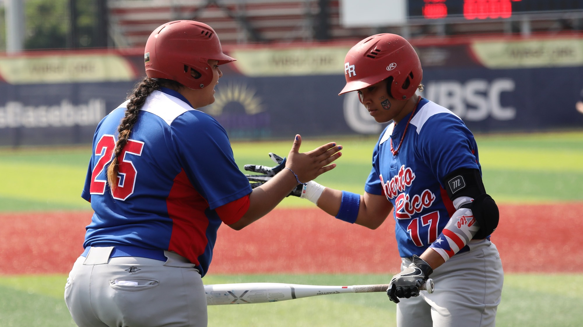Puerto Rico had entered the final inning with a 10-0 lead