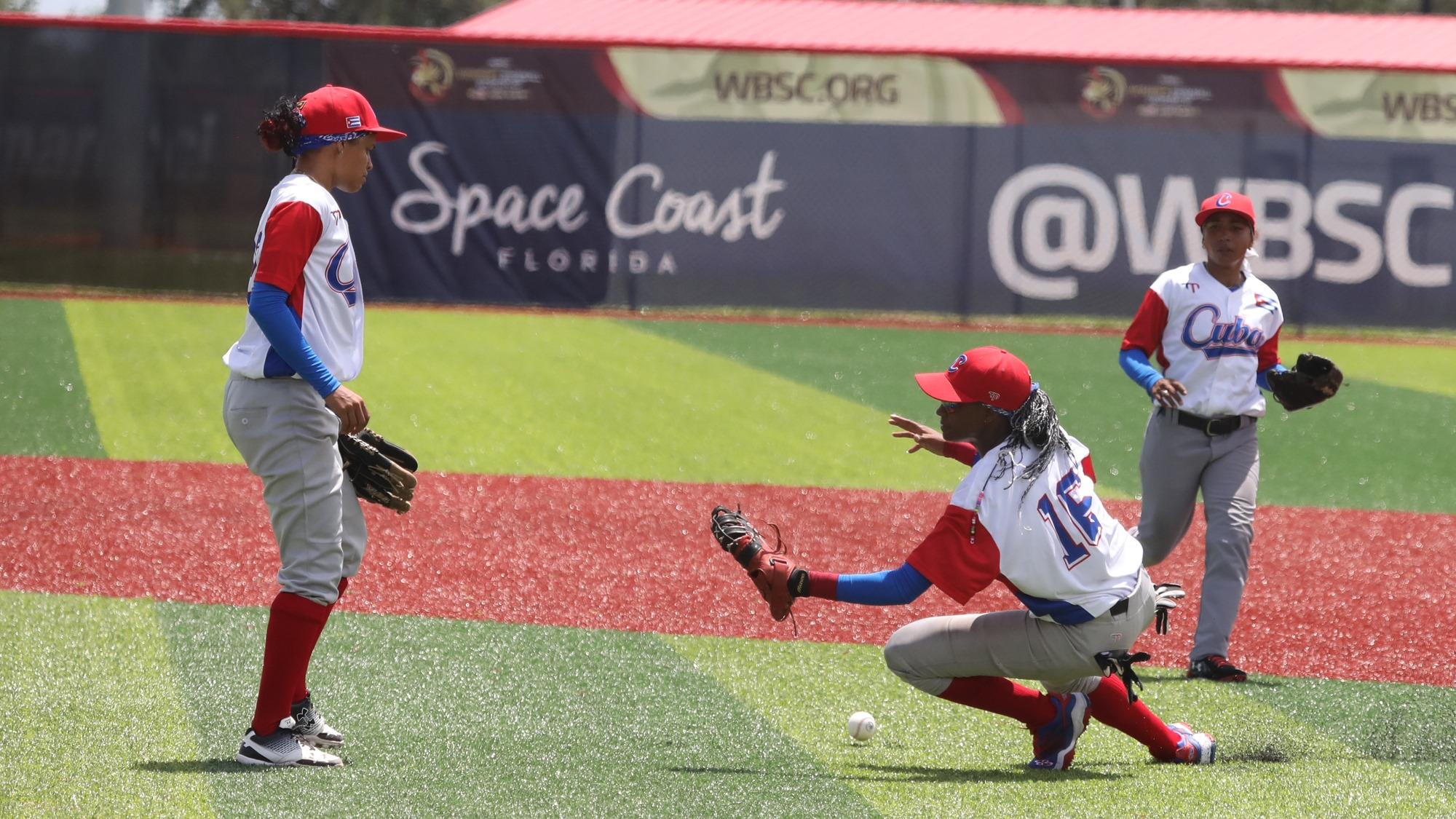 Cuba's defense went under pressure