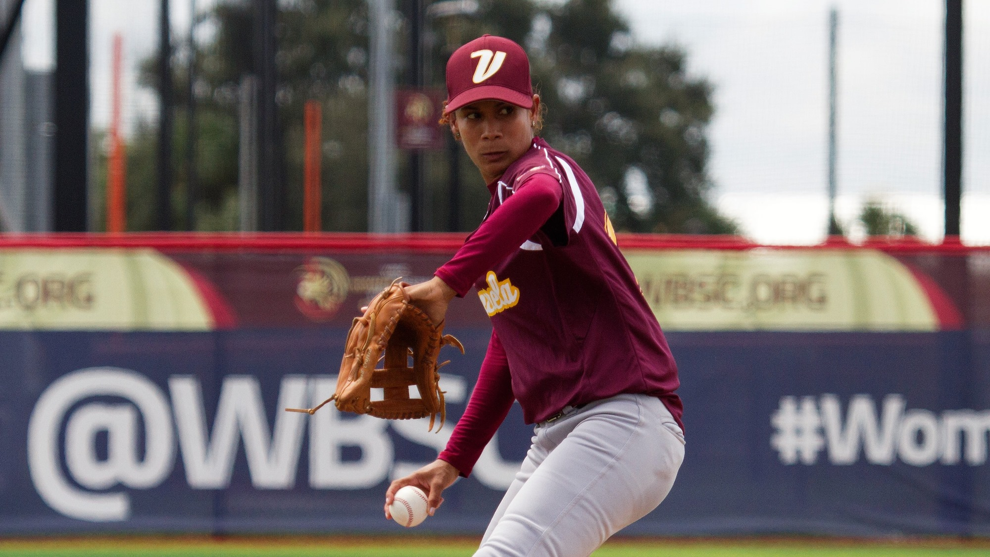 Giddely Cumanas pitched six innings to grab the win for Venezuela in an elimination game against Puerto Rico