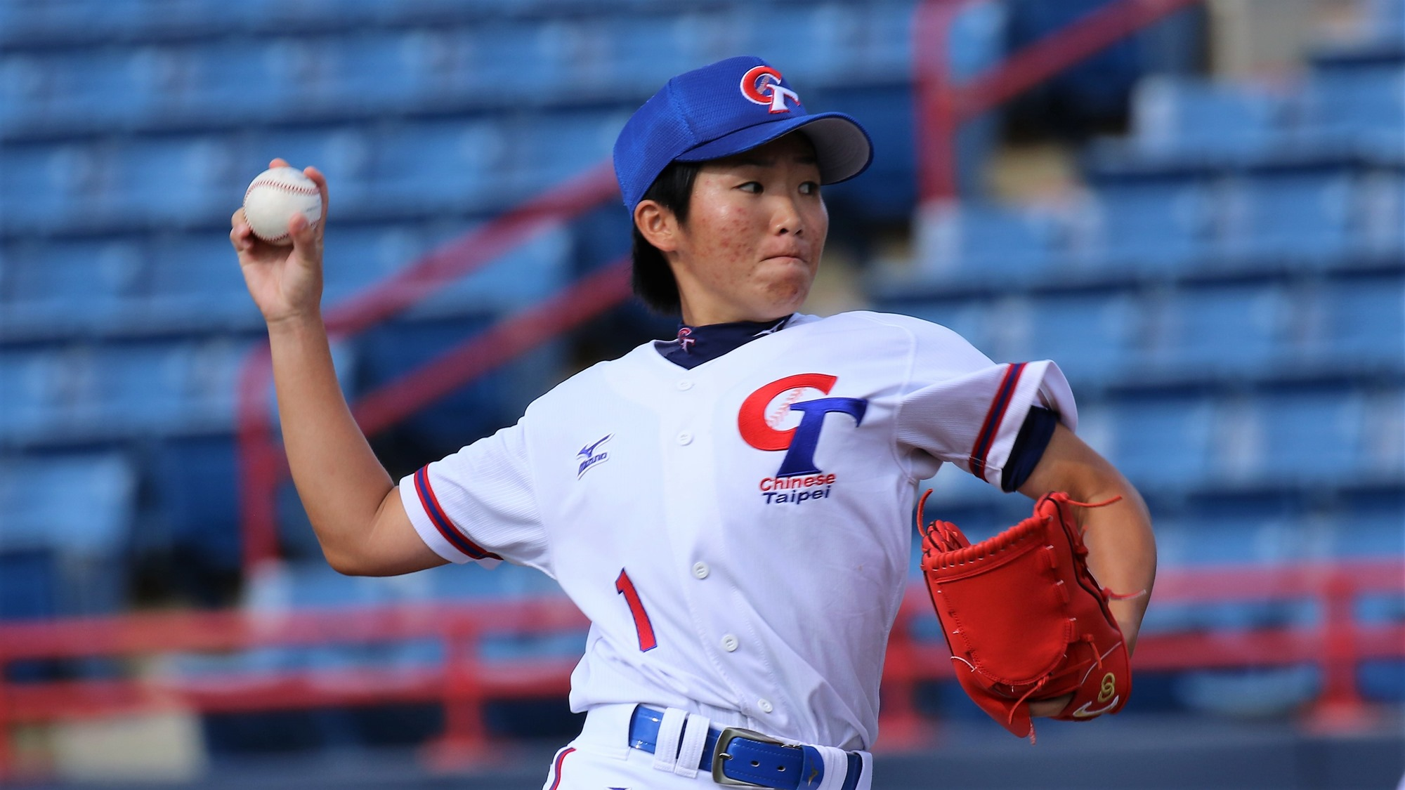 Hsieh Yu Ying went eight innings and grabbed the win for Chinese Taipei