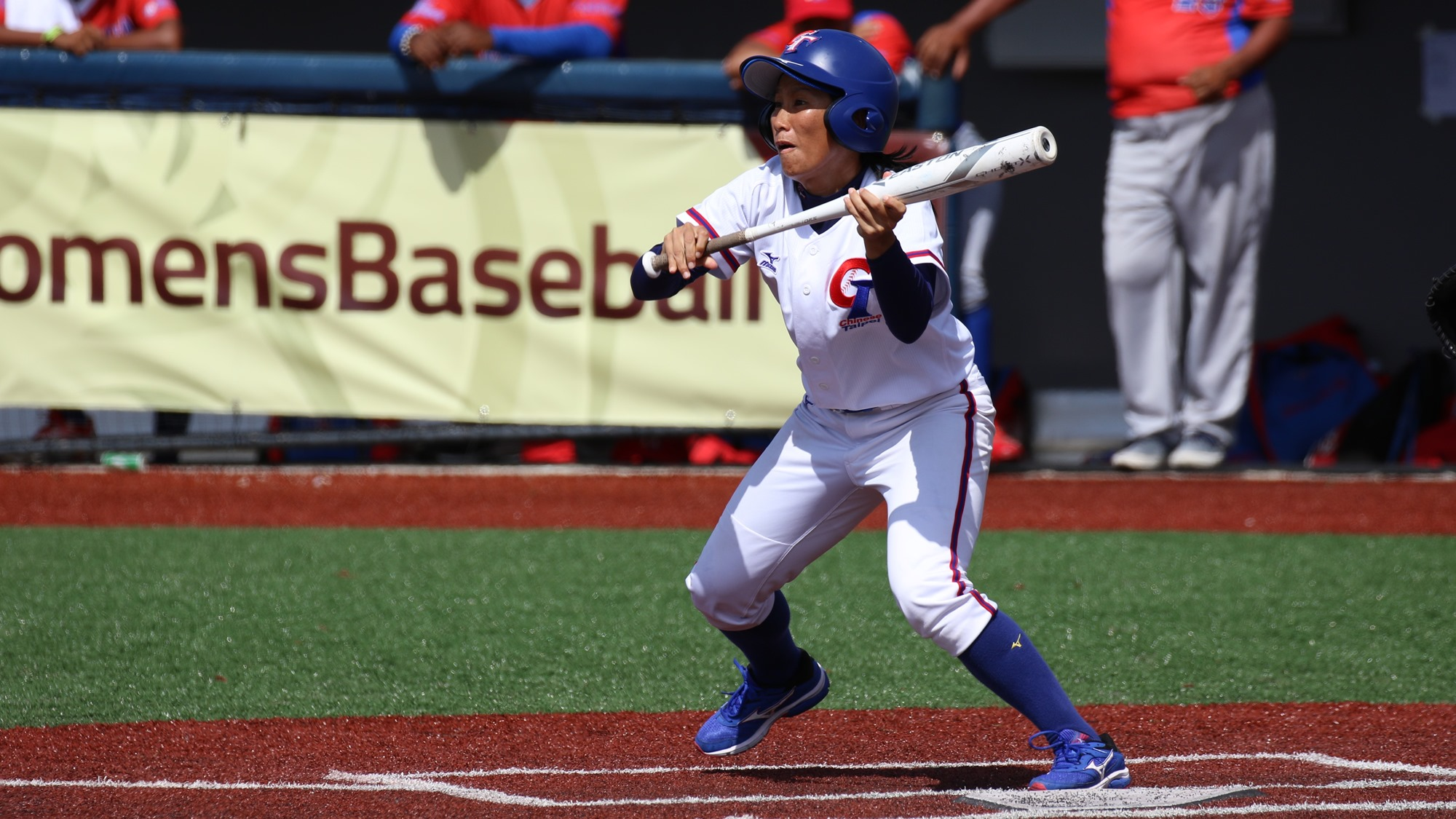 A bunt by Shu Shi Mei moved the winning run to third in the bottom of the eighth for Chinese Taipei