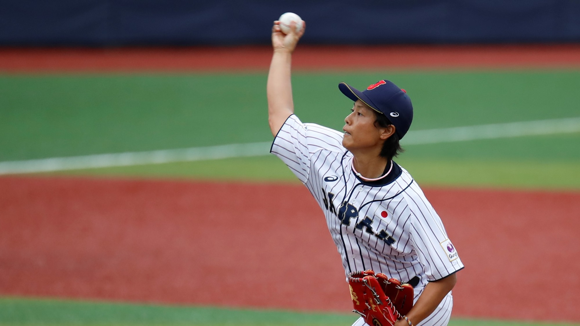 Ayami Sato pitched a gem for Japan