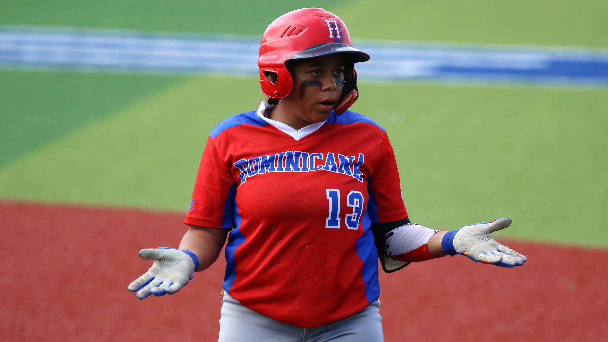 Melissa Rodriguez expresses the disappointment of the Dominican Republic