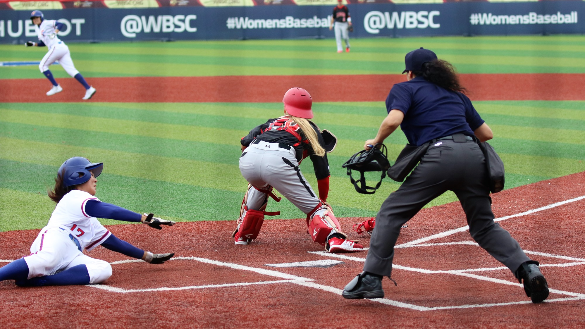 Chinese Taipei scored three in the bottom half of the frame and added three more in the third