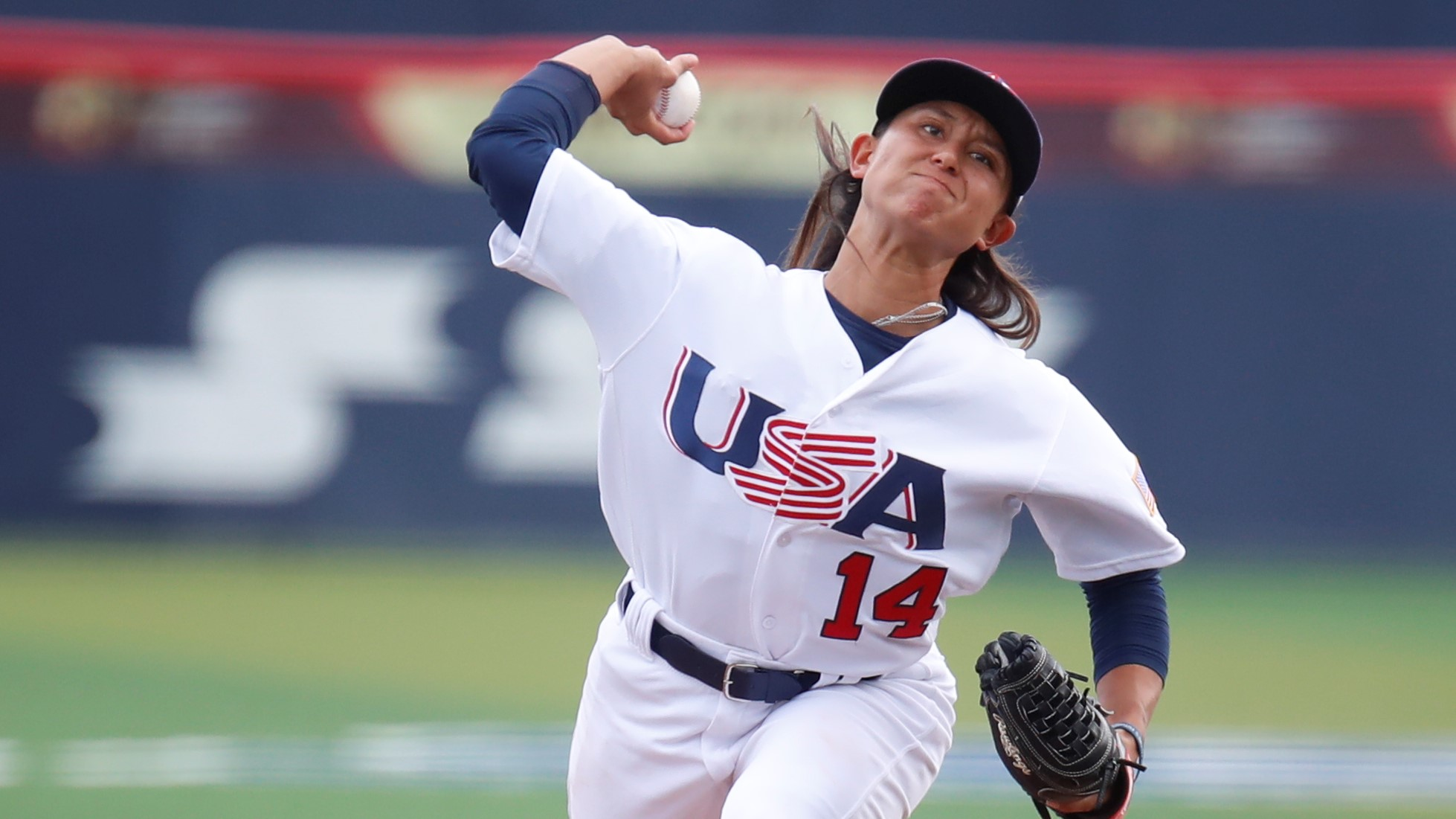 Kelsie Whitmore grabbed the win for the USA
