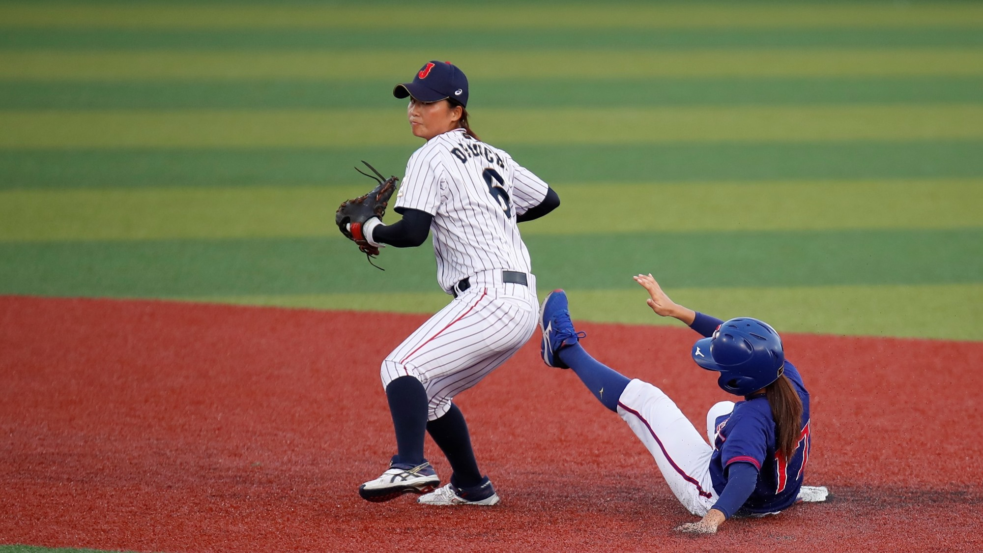 Japan played strong defense against a dangerous Chinese Taipei side