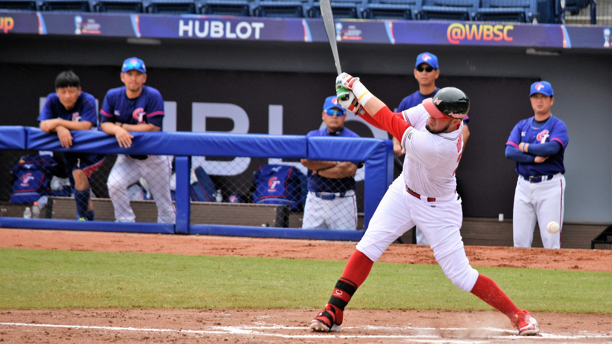 Alan Garcia gave Mexico all the run production they needed with a two RBI single in the first