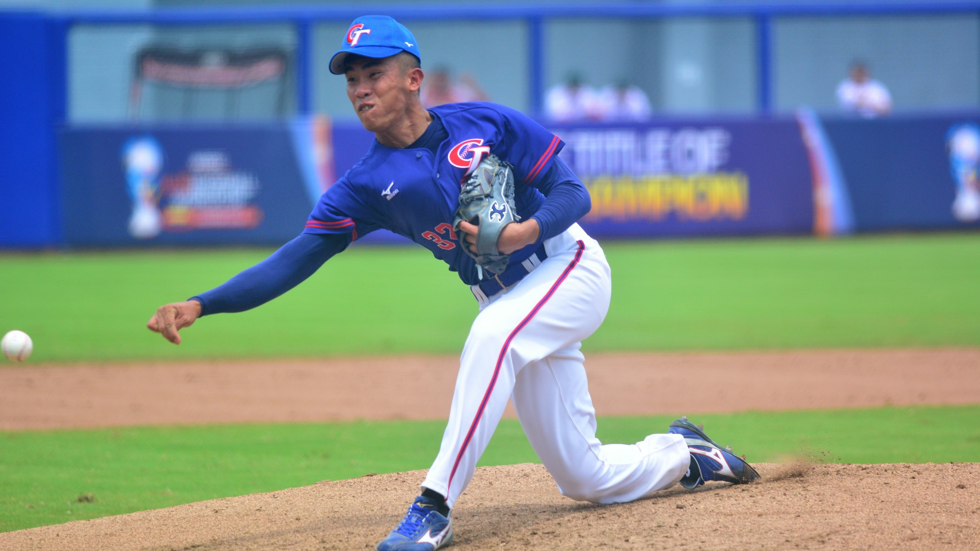 Reliever Chen Liang Chih went 6.2 innings without allowing a run for Chinese Taipei