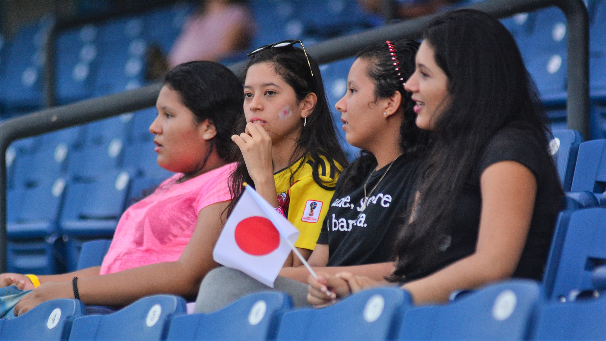 Japan has fans in Barranquilla