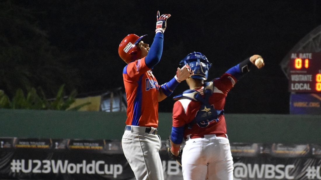 Lean Marrero homered for Puerto Rico