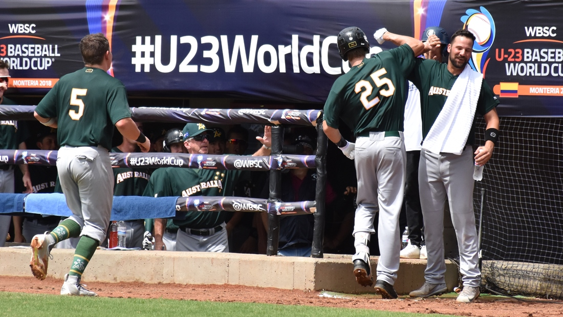 Ulrich Bojarski homered for the second time in two days