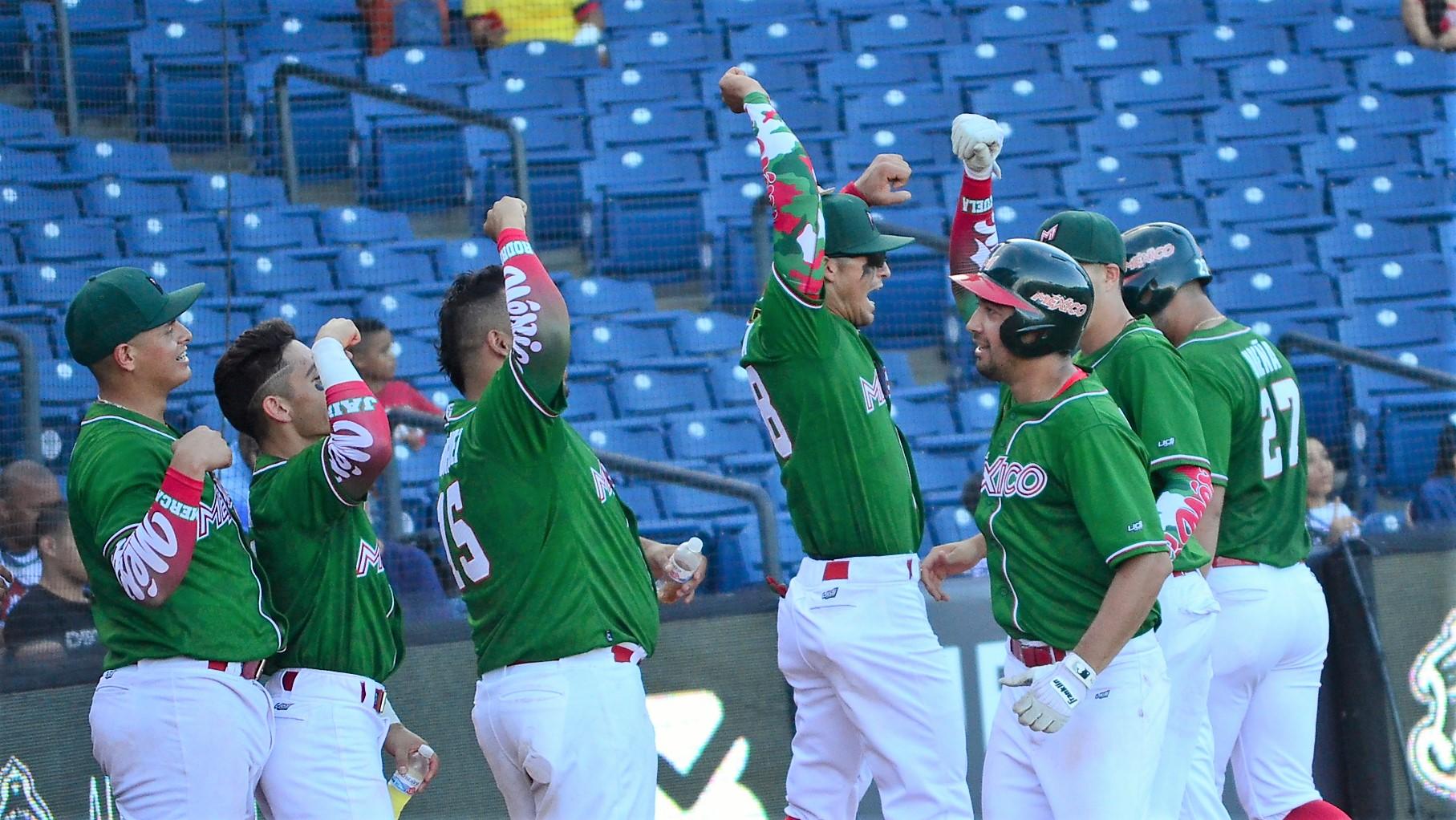 Mexico enjoyed a four-home run night