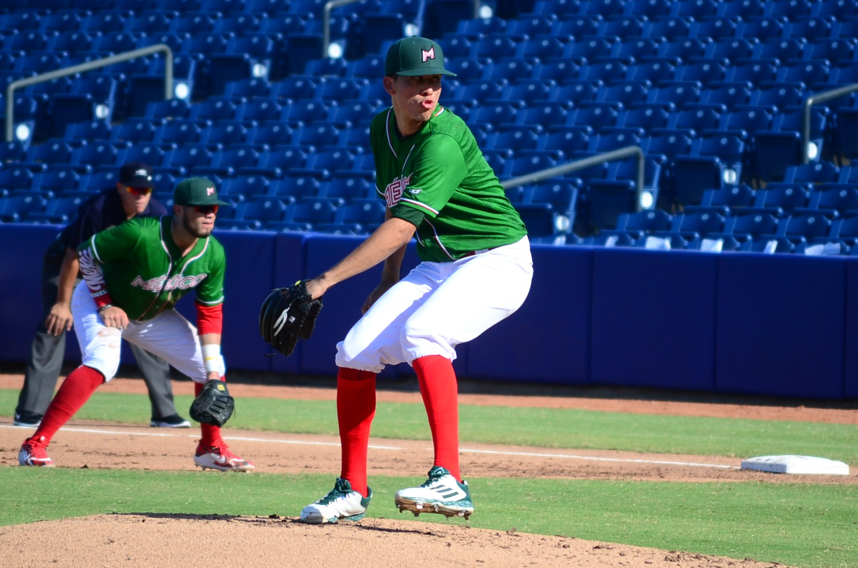 Francisco Haro and Mexico's bull pen also lived a rough night
