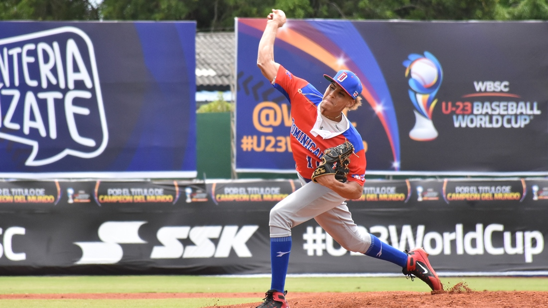 Wilber Perez  started the game for Puerto Rico and ended with no decision
