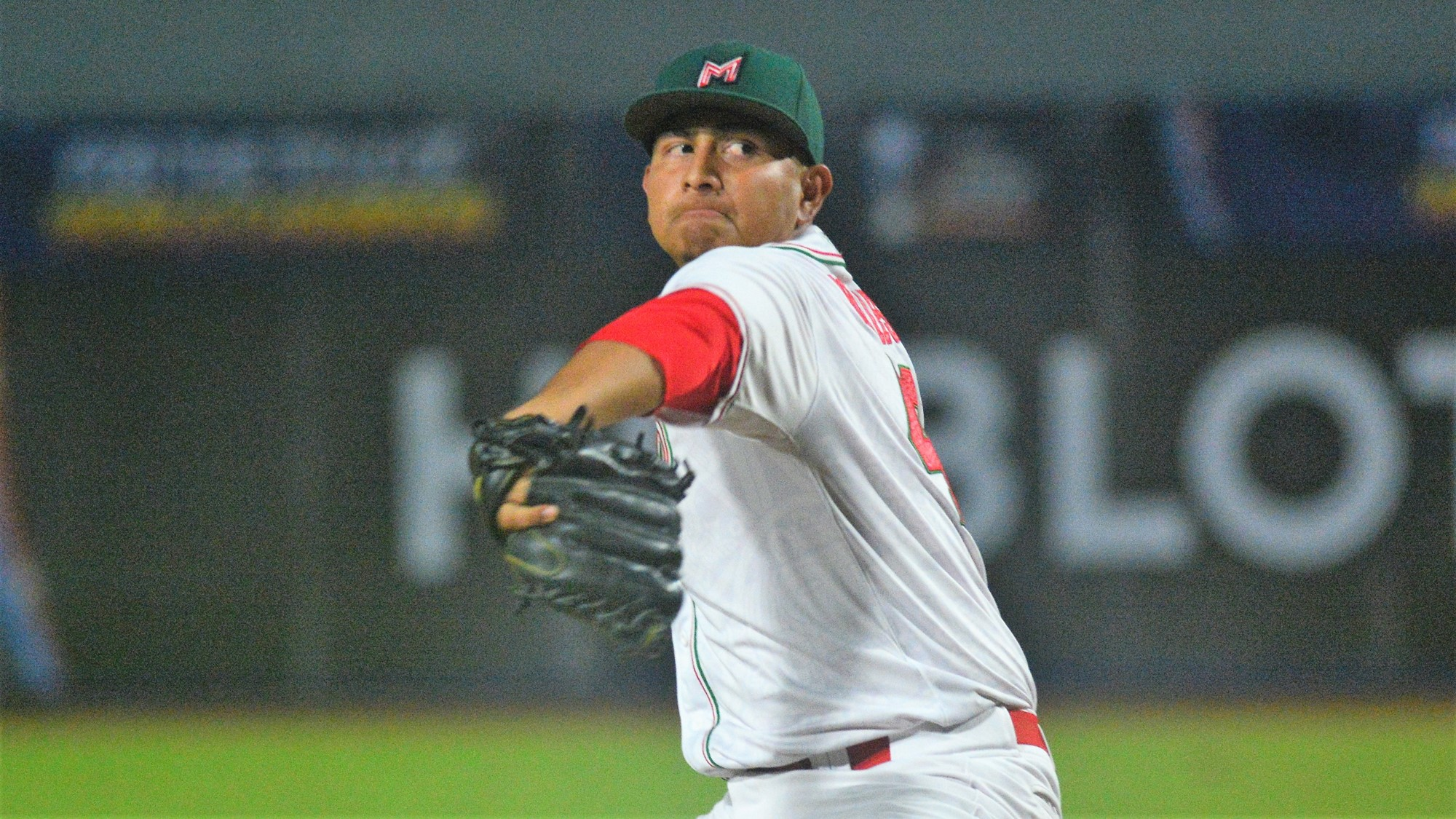 Mexico's starter Carlos Morales gave up a second pitch extra base hit, then cruised through the first 5 innings
