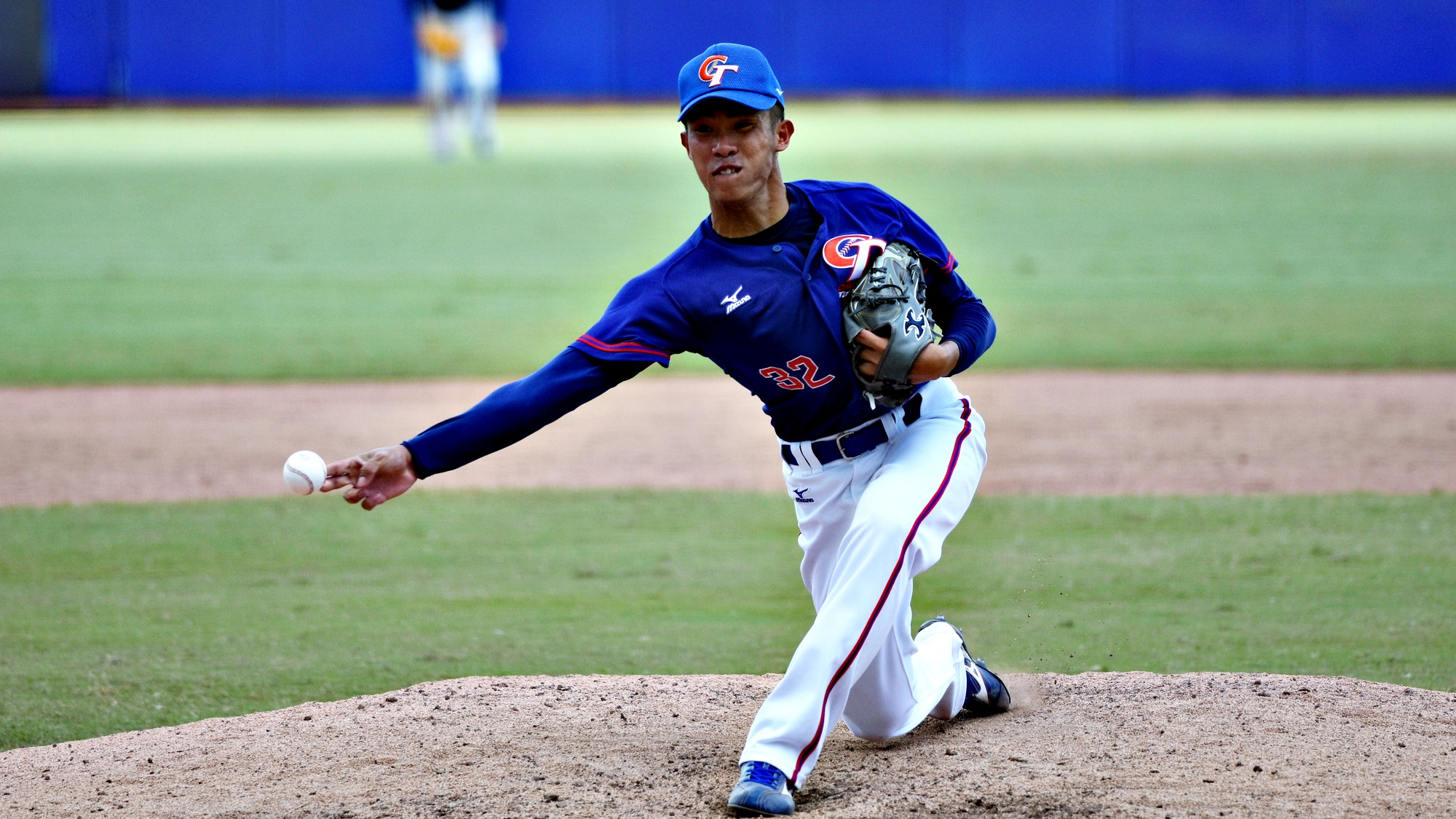 Chinese Taipei starter Chen Liang Chi took his effort into the ninth, despite going well over the 100 pitch limit and allowing 7 walks
