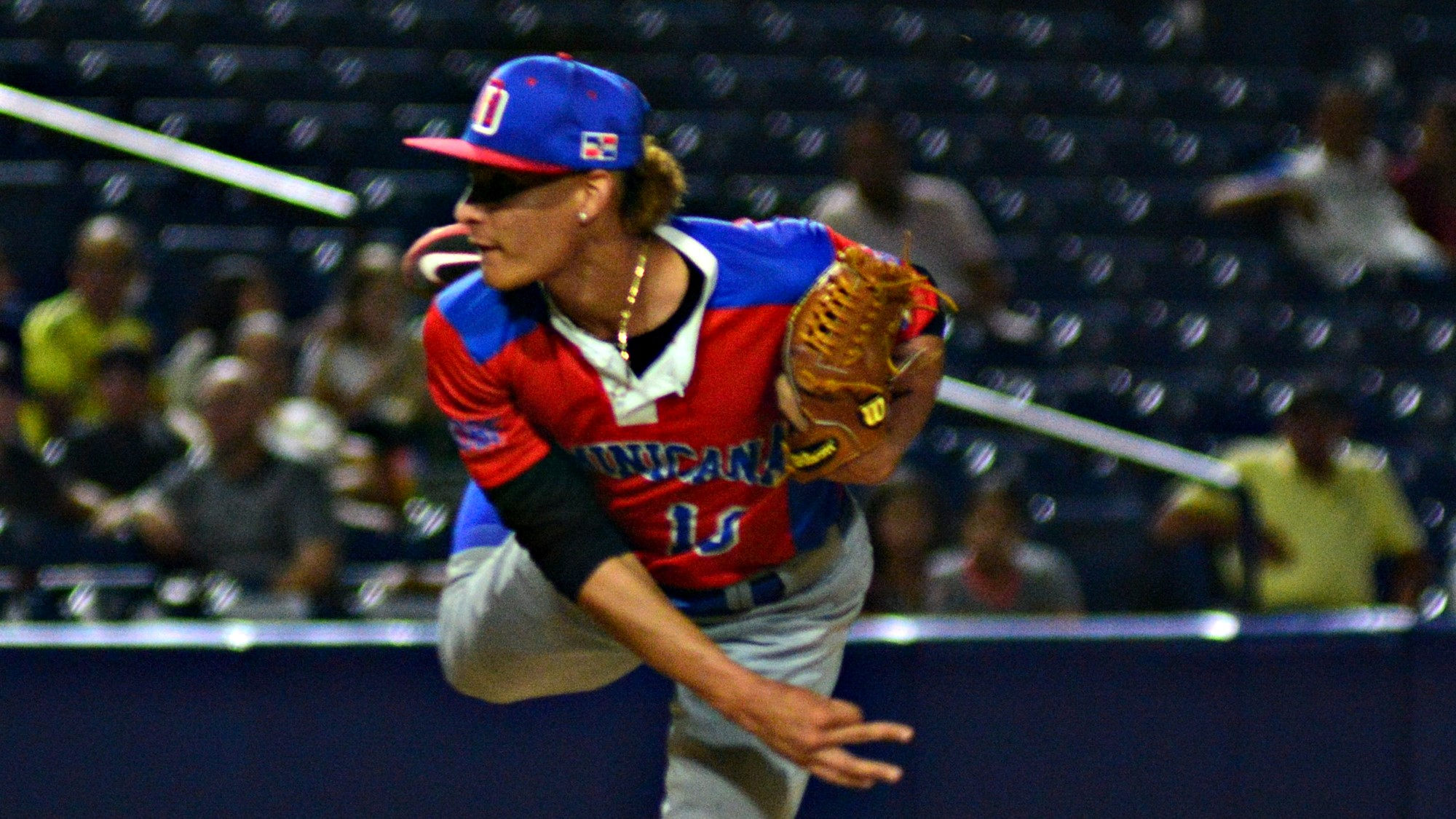 Wilber Perez started fotr the Dominican Republic