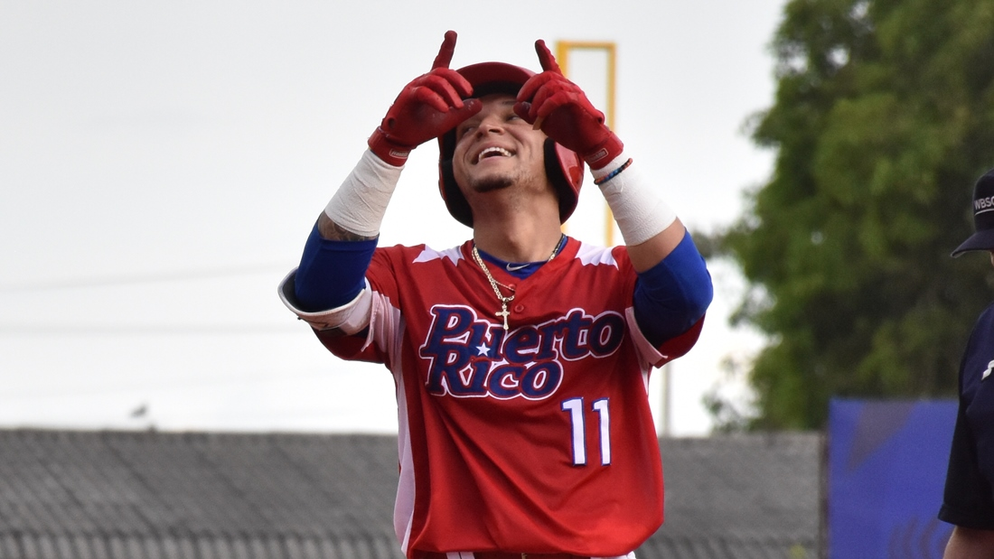 Isan Diaz homered twice against Netherlands