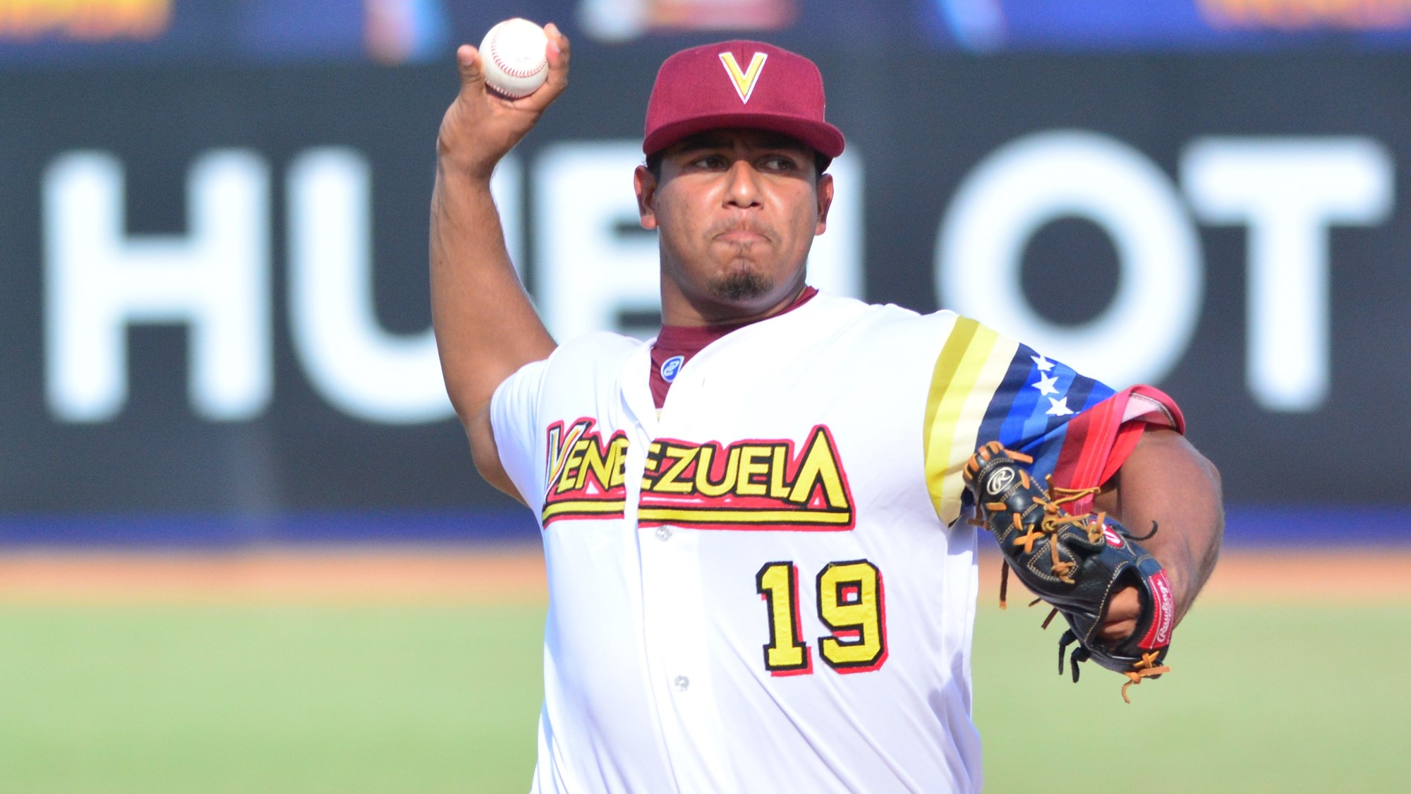 Josè Rodriguez started the game for Venezuela