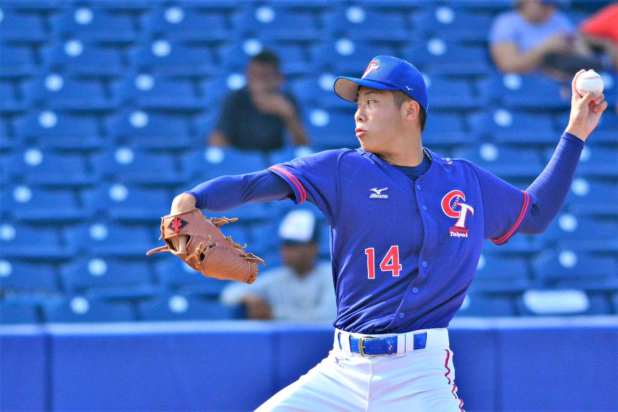 Wei Shuo Cheng dominated Venezuela line up for six innings