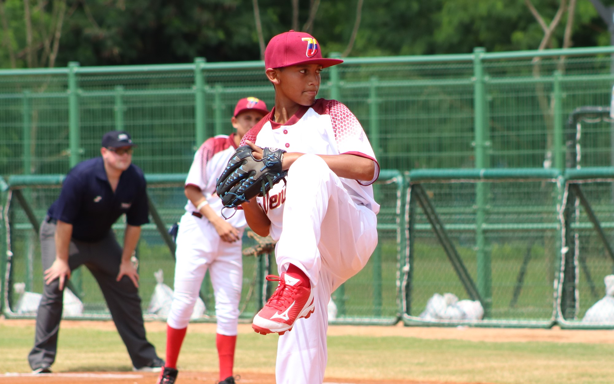 Venezuela's starter Trujillo