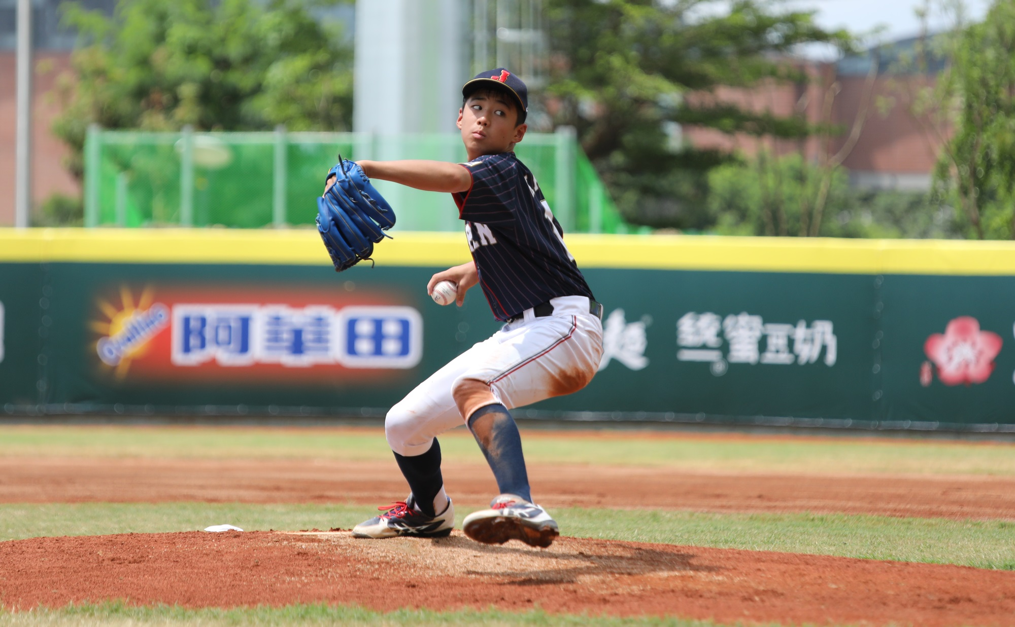 Japanese starting pitcher Kotaro Kawagoe