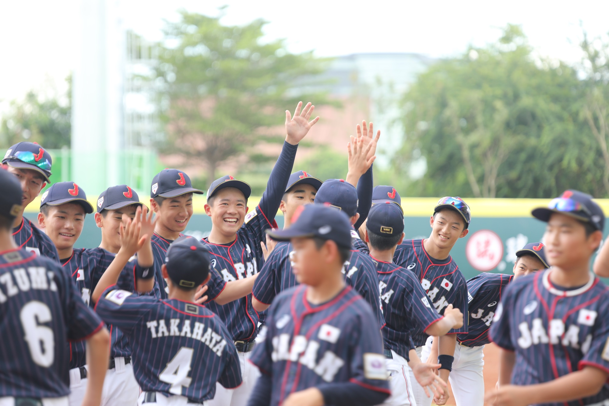 Japan gets ready for game one