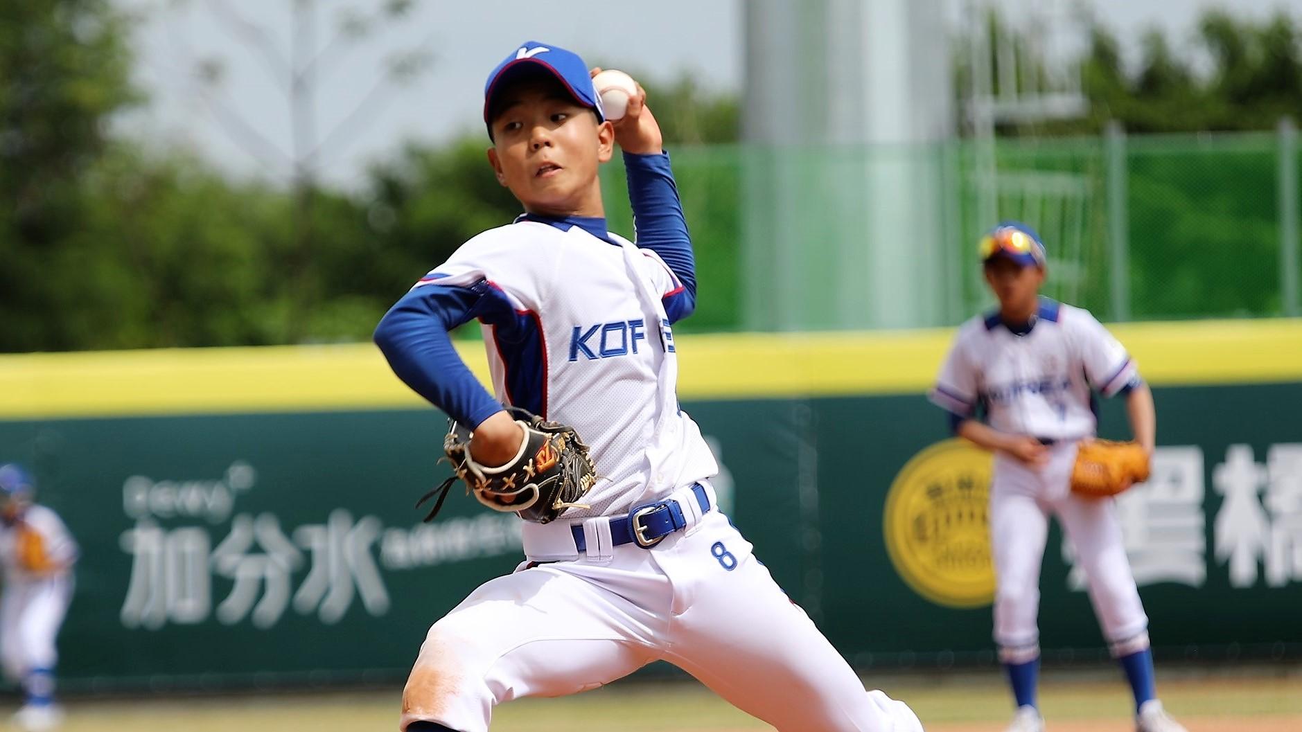 Korea's starter Na Hyun Seo