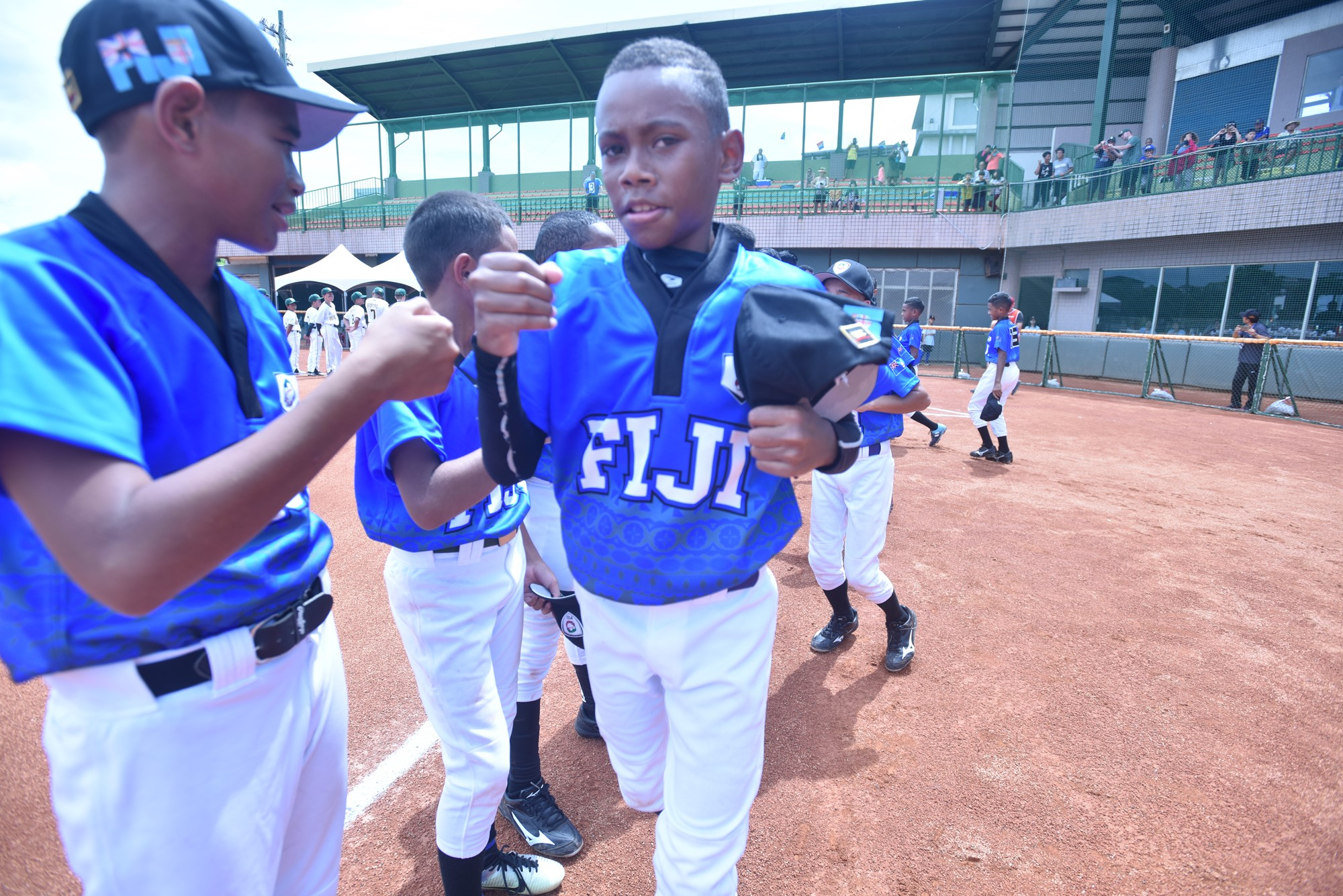 It was the first time in a baseball World Cup for Fiji