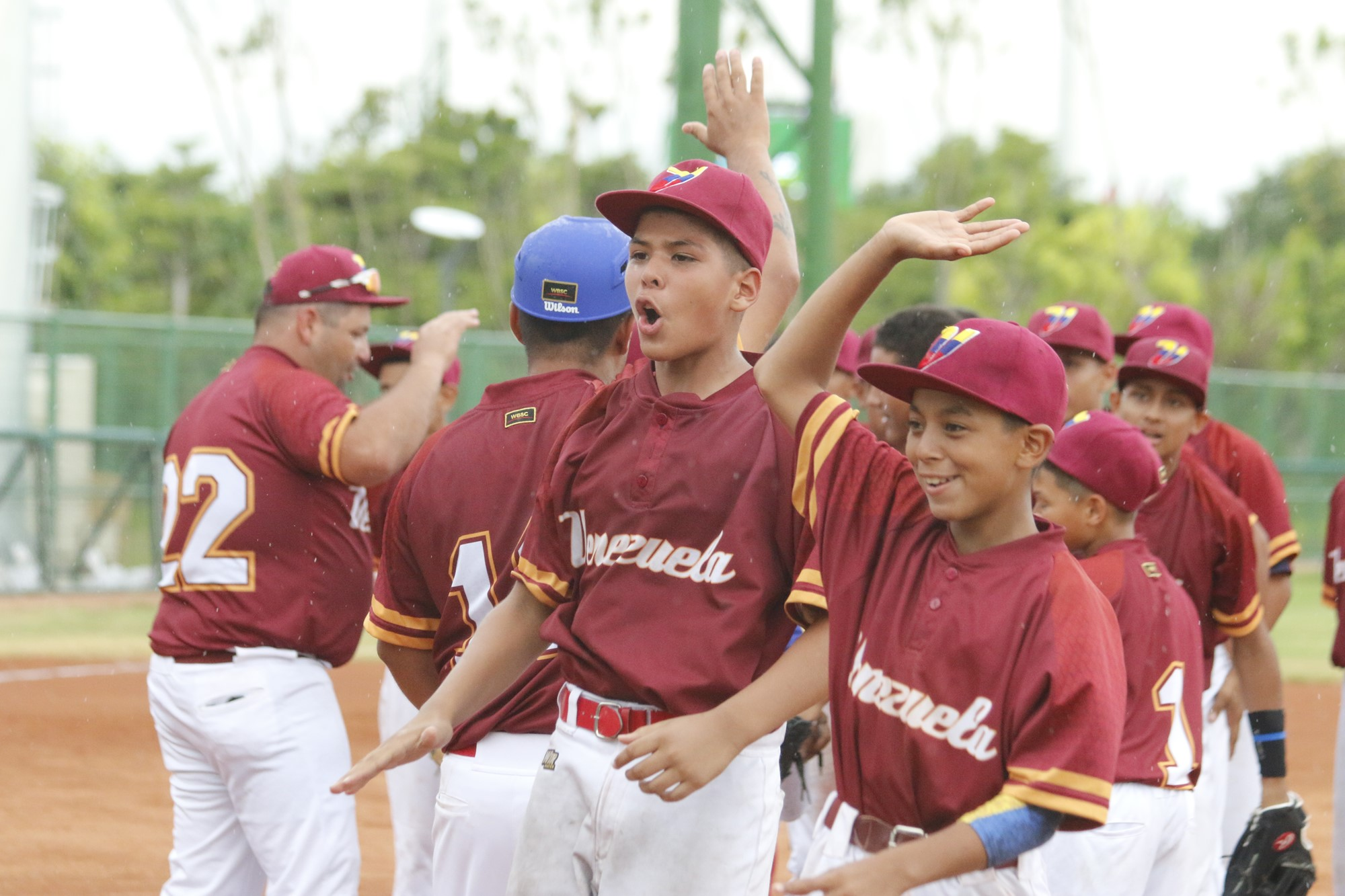 Venezuela defeated the USA to remain undefeated