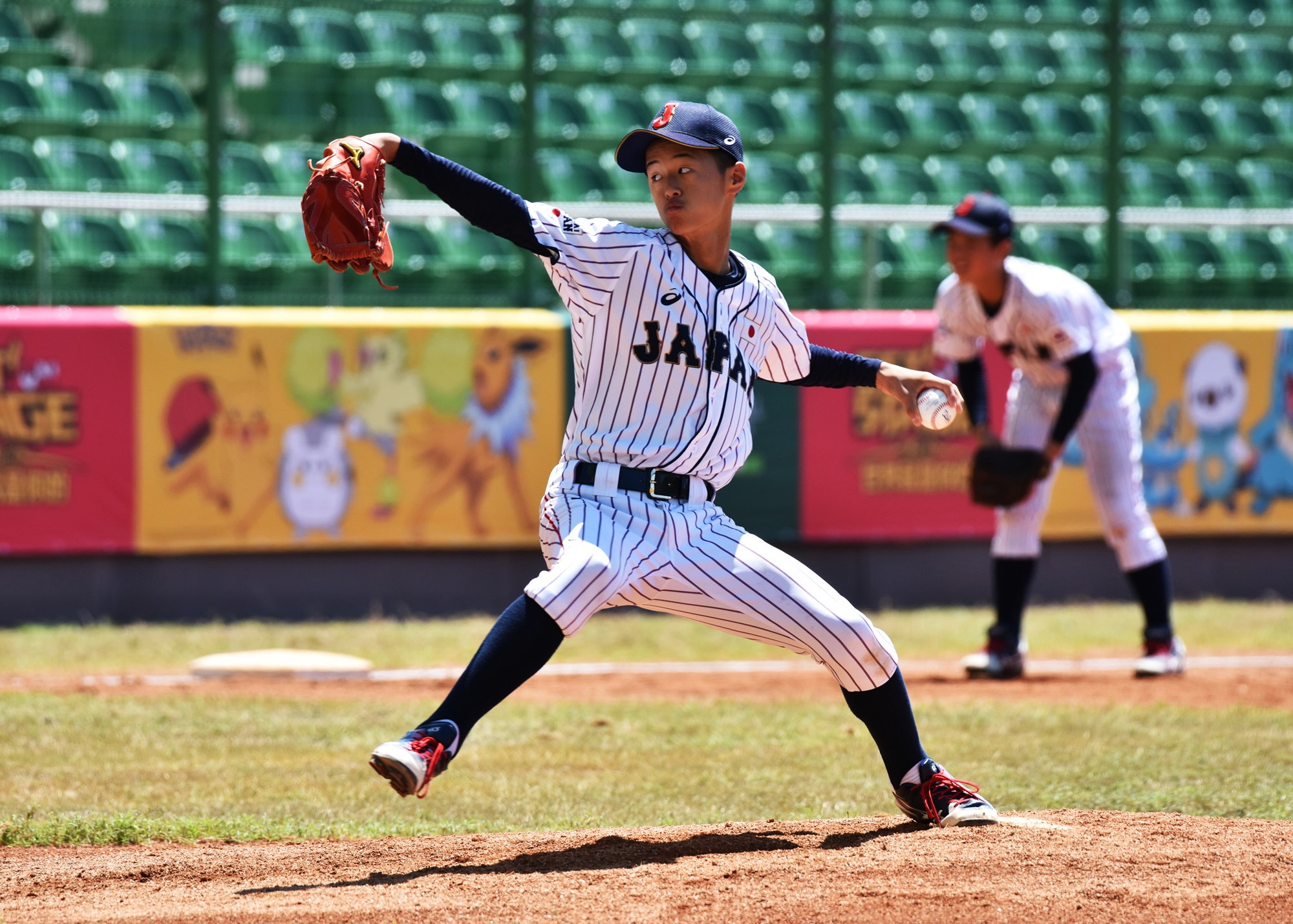 Japan's pitchers gave no chance to the absolute beginners