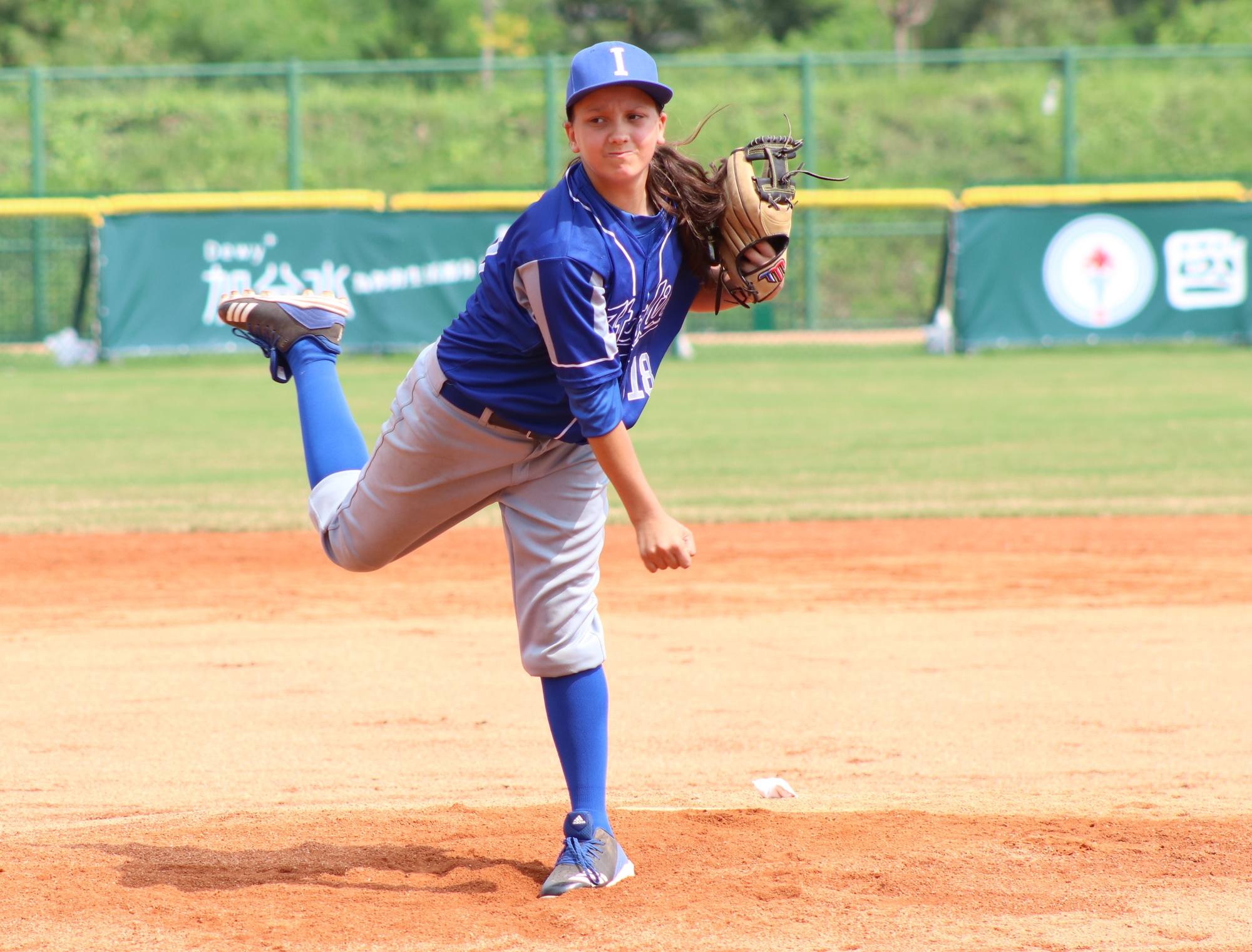 Naomi Cortesi one one of the pitchers the Italians used