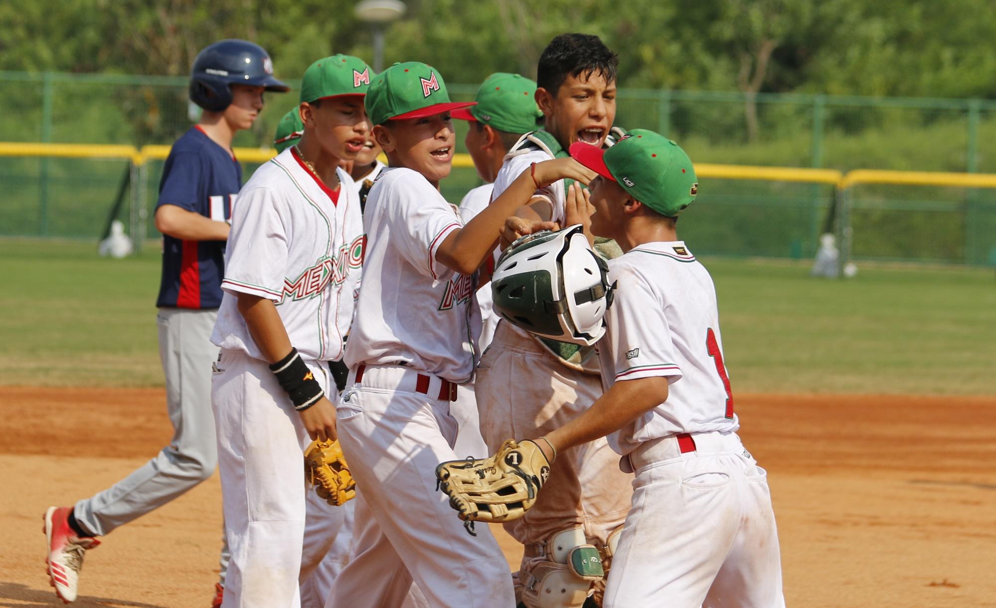 Mexico's players joy