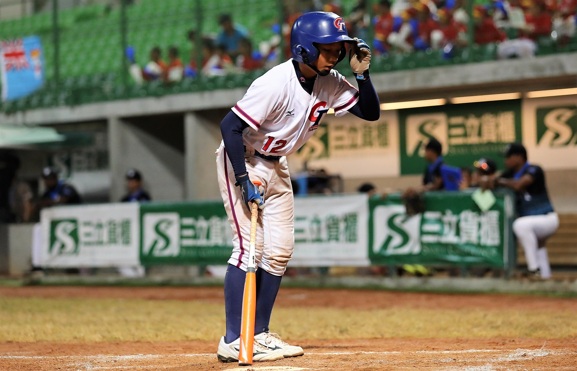 Chinese Taipei  played withe respect, but trying to score runs
