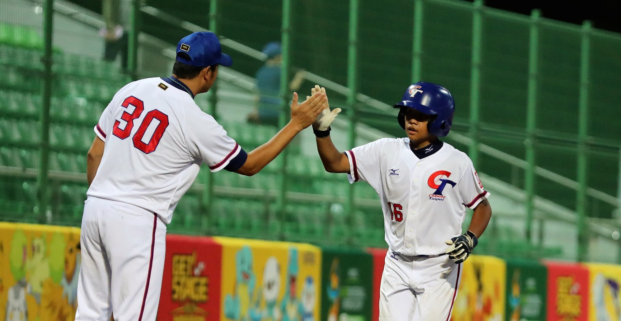 Chinese Taipei scored 27 runs in the first inning only