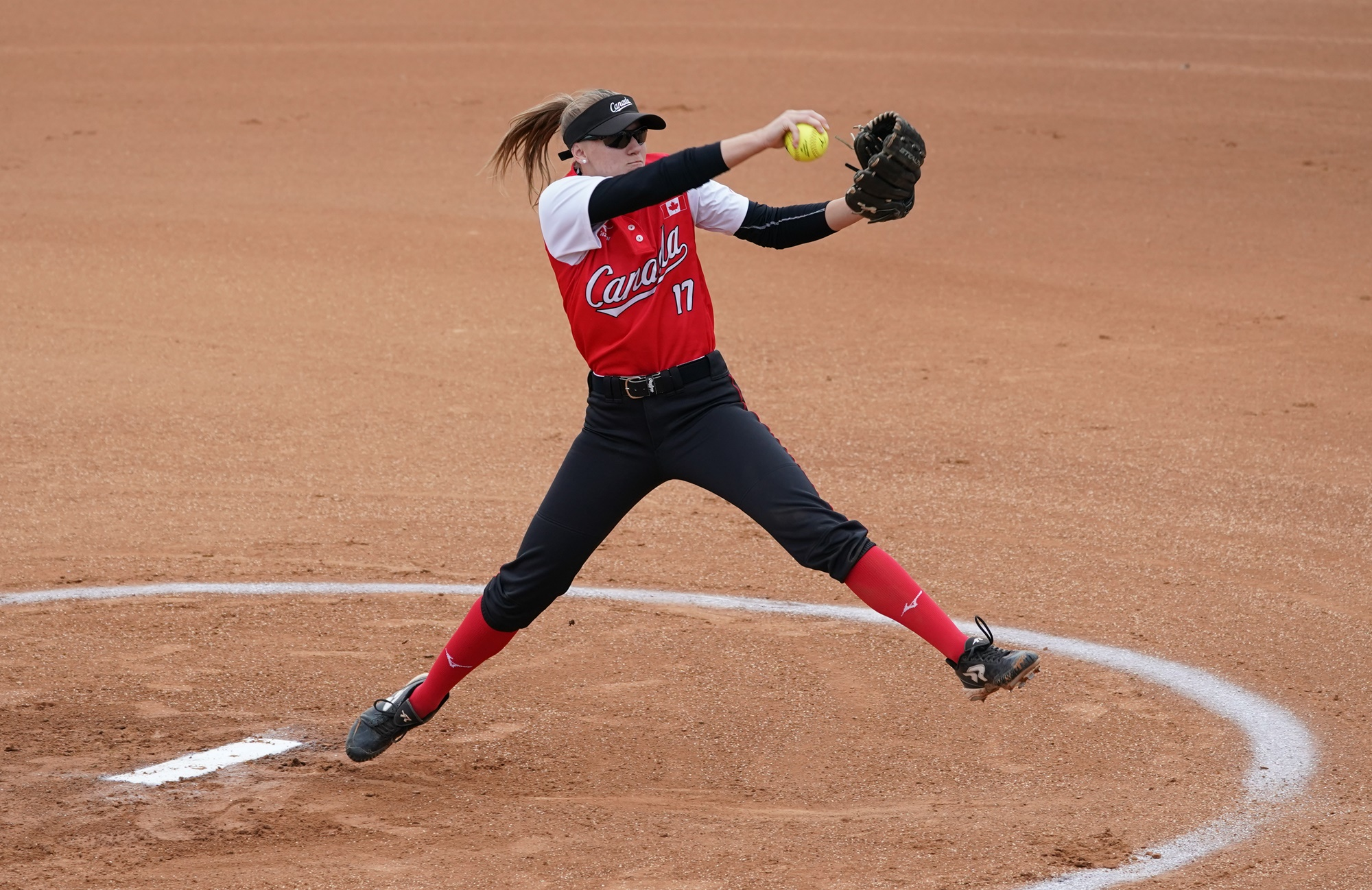 Samantha Ryan went the distance for Canada