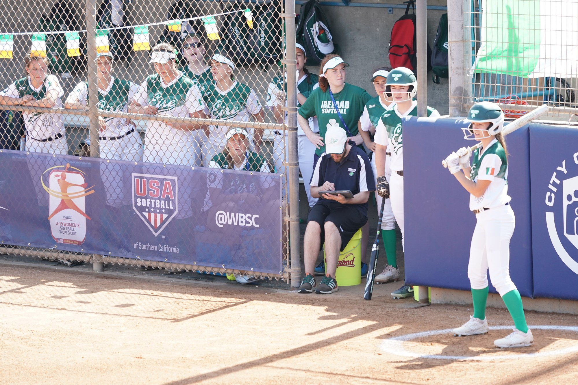 Ireland made the debut in the U-19 Women's Softball World Cup