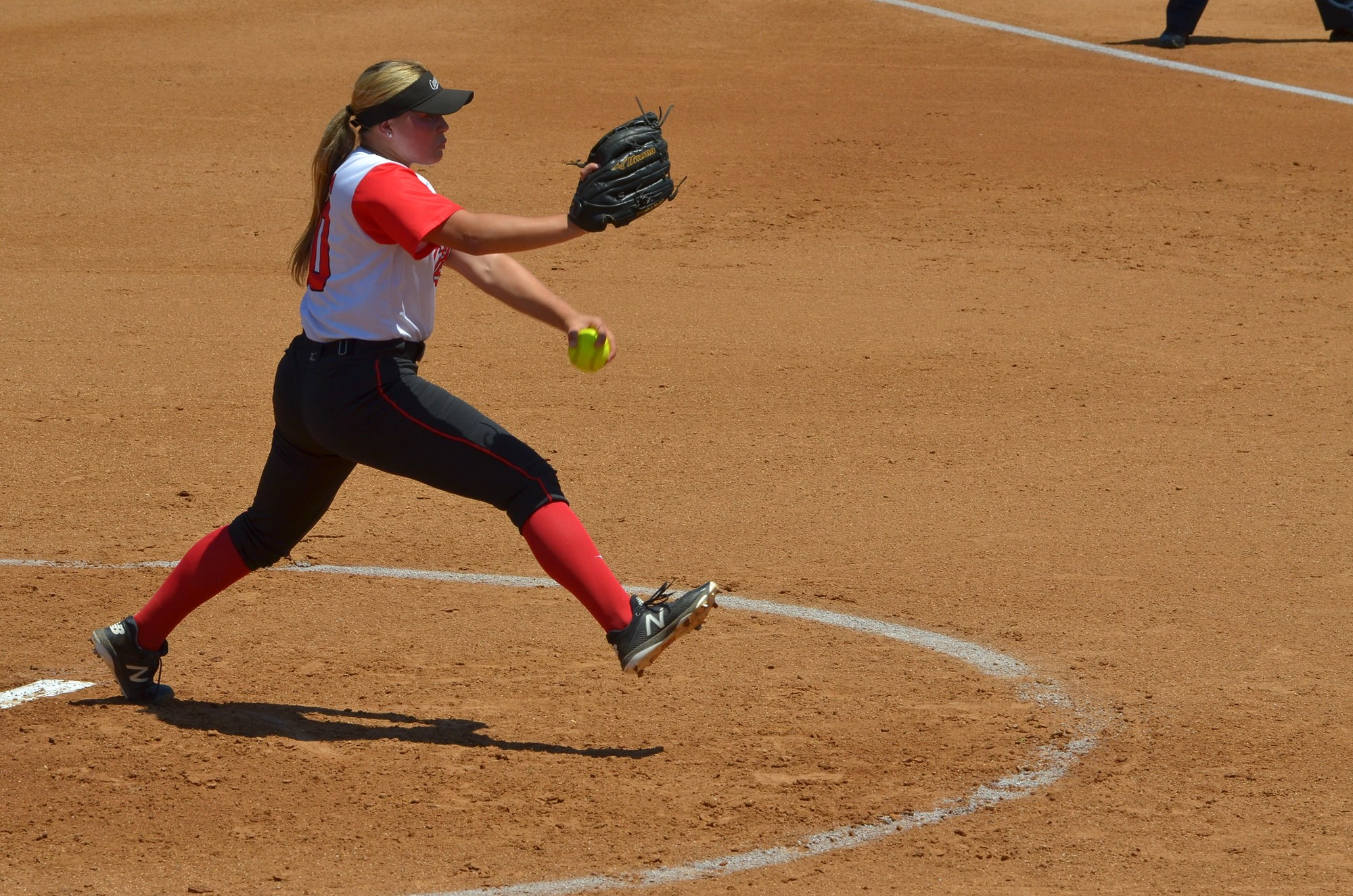 Alexis Lucyshyn went four innings and earned the win