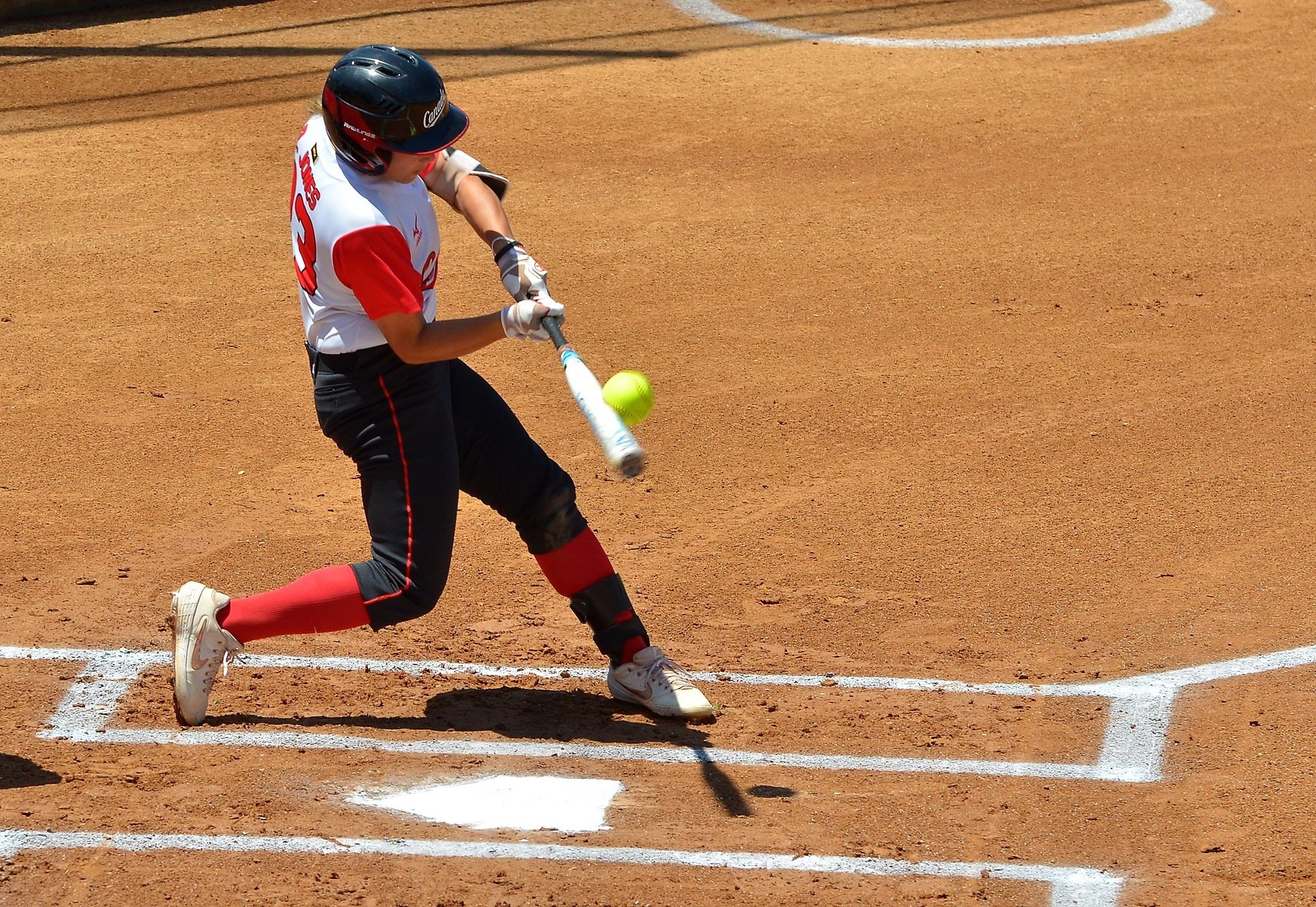 Rebecca Jones homered to put Canada ahead in the first