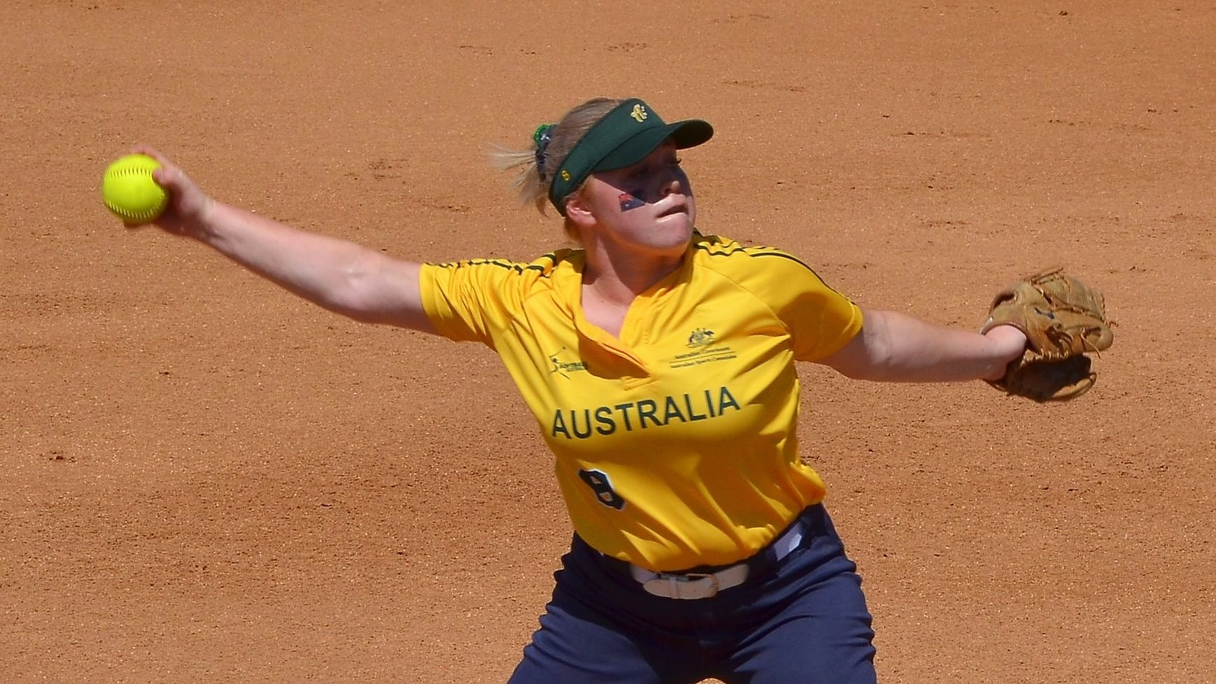 Georgia Hood started for Australia