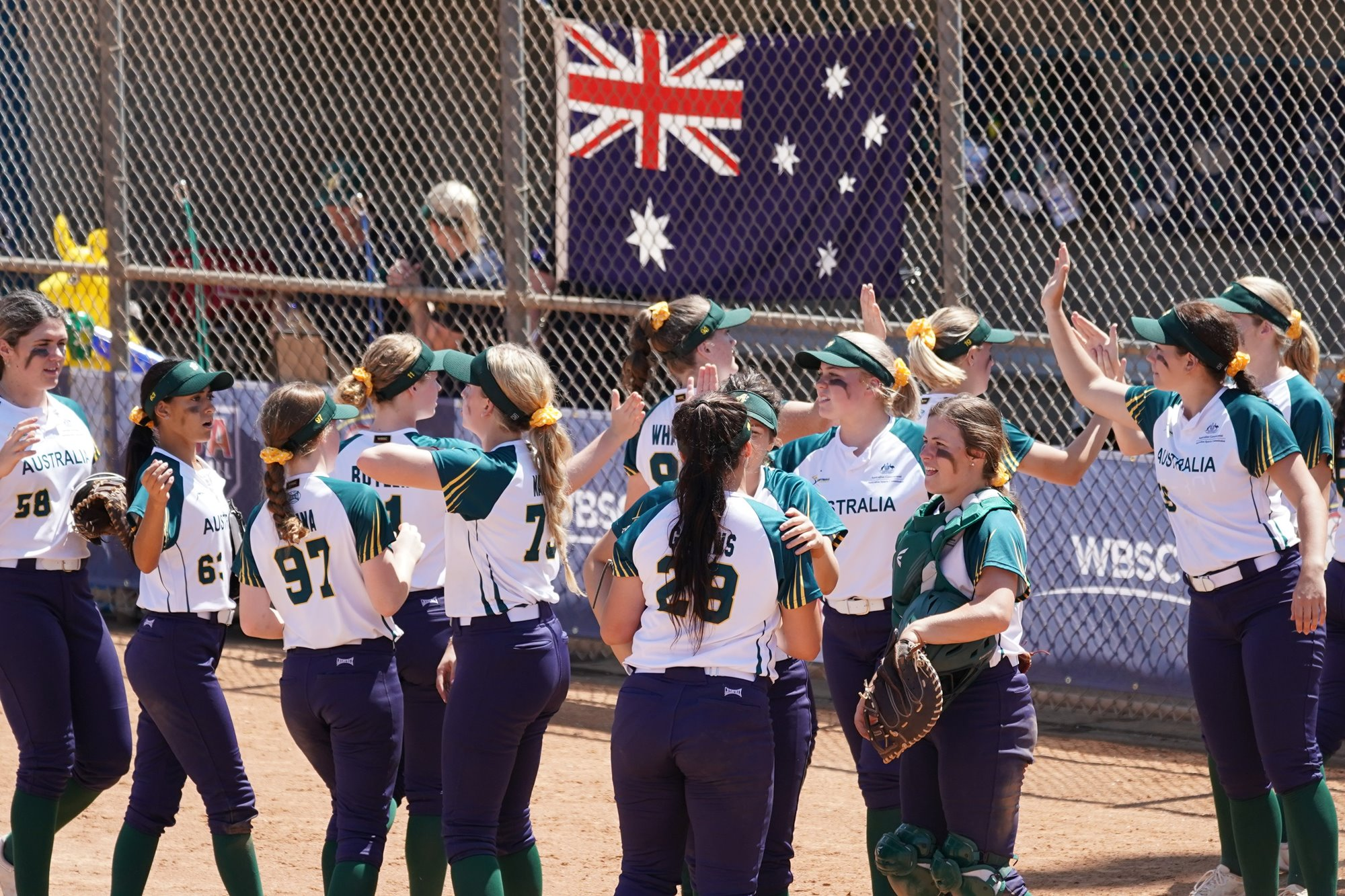 Australia won it in four