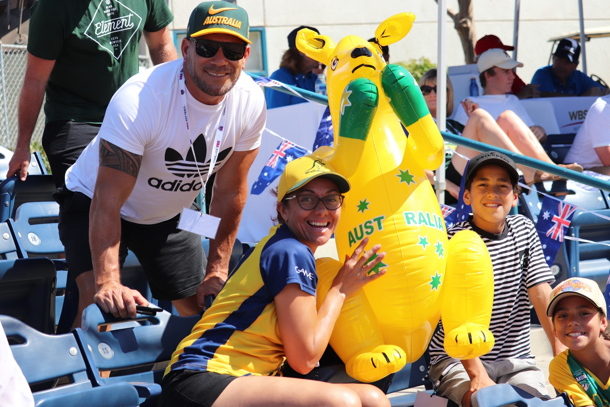 Australia made fans happy
