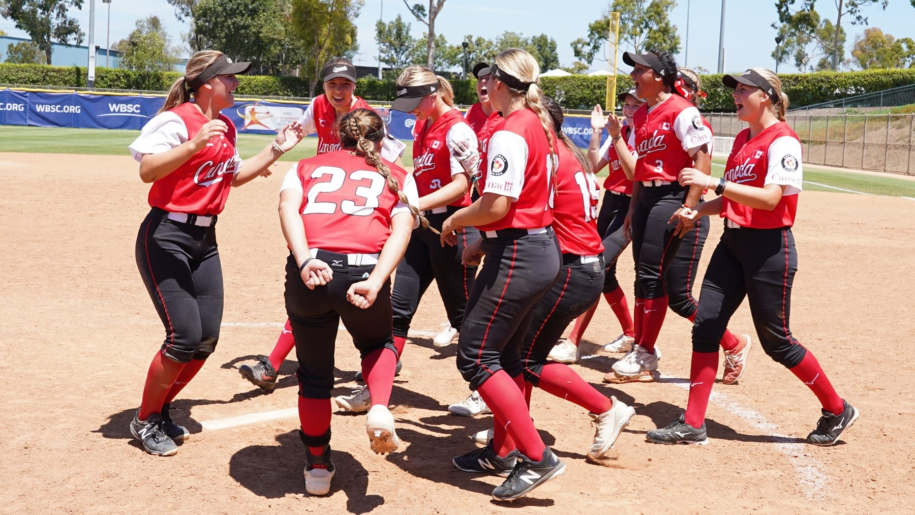 Canada could celebrate the first ever medal at the softball U-19 world level