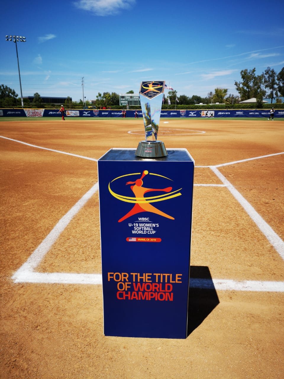 The U-19 Women's World Cup Trophy