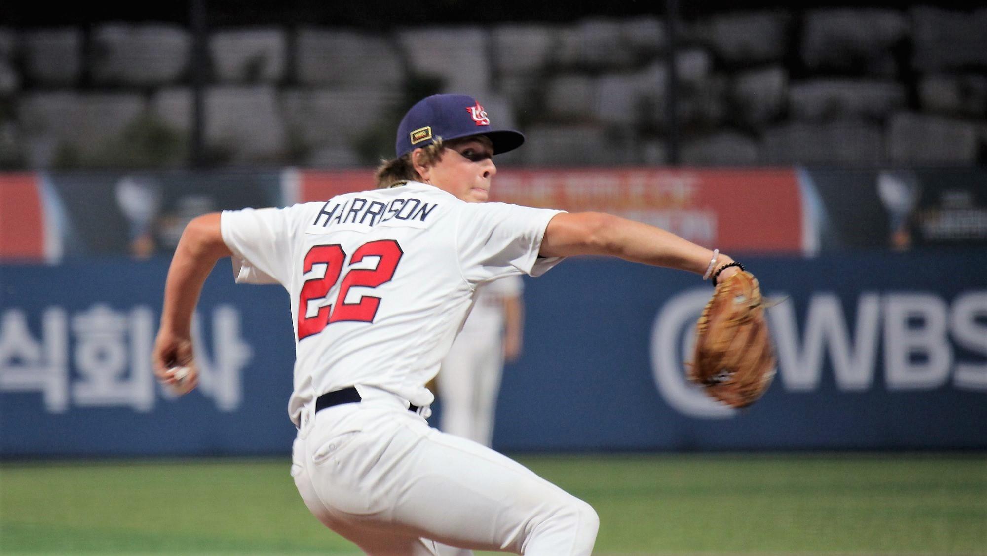 Kyle Harrison è stato dominante per gli USA