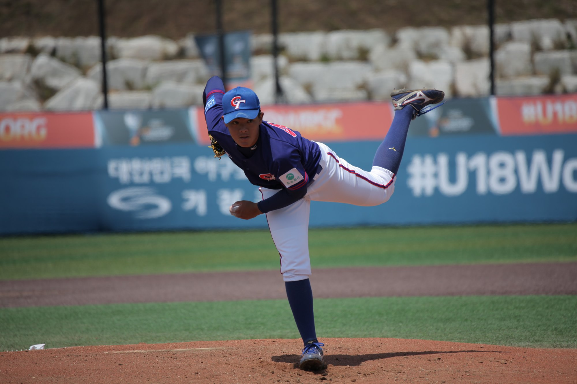 Lin Tzu Wei kept Chinese Taipei in the game for six innings