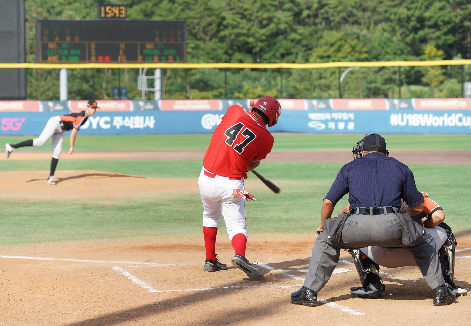 Scott Prins kept Canada hitless for three innings, then he allowed a home run to Ryan Leitch