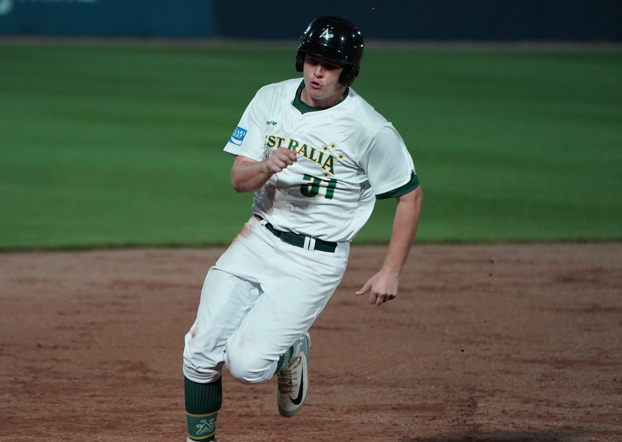 Conor Myles reached on an error, scored the only run of the night